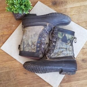 Women's LaCrosse Realtree Camo Insulated Boots 8
